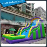 Commercial inflatable slide with big pool for kids birthday's gift                                                                                                         Supplier's Choice