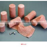 Surgical dressing skin color elastic crepe bandage