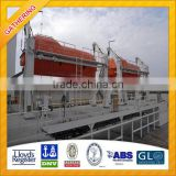 40 Persons Totally Enclosed Lifeboat with Davit for SALE