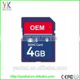 Factory OEM full storage memory card 1GB-32GB SD Card/TF card