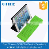 Waterproof Wireless Foldable Silicone Keyboard Pocket Bluetooth Keyboard for iPhone,/Samsung/iPad