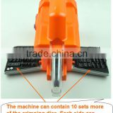 Pneumatic Crimping Tool machine AM-30 for crimping cable terminals and connectors including 1 die set, replacement of AM-10