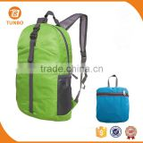 Fashionable china foldable backpack ,lightweight travelling backpack,wholesale foldable bag