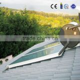 300L integrated pressure flat panel solar energy water heater,flat plate solar water heater collector