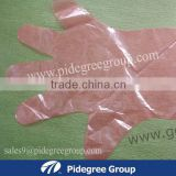 long sleeve pe gloves HDPE&LDPE