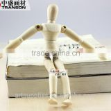 5.5'' /8'' wooden men wood manikin human figure sketch artist drawing model