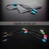 3.5mm Jack Earphone Audio Splitter Cable For iPod Mp3 MP4