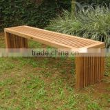 Teak Outdoor Backless Bench VTB 053
