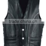 Leather Fashion Vest