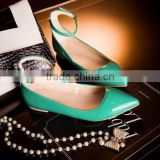 women flat sandals colorful shoes newest shoes CP6840