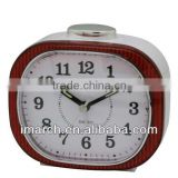 red oval shape clock,table clock