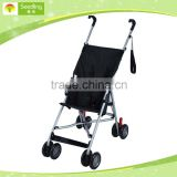 simple types baby stroller sale black 2-in-1 custom made baby stroller