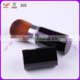 Wholesale Retractable Shaving Makeup Brush With Aluminum Ferrule