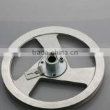 small pulley wheel for motorcycle engine from taiwan/chinese motorcycle manufacturer