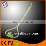 2014 EL flashing audio cable for Headphones LED Flashing stereo earphone