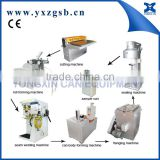 Engine oil can making machine/small square tin can making machine