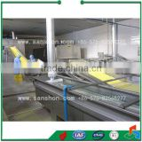 Hotsell Fruit and Vegetable Complete Quick Freezing Line/IQF Processing Machinery