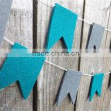 Hot sell Felt Flag Banner Pennant Garland Modern Nursery Decor made in China