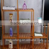 2014 Fasion Bamboo Bathroom Shelf