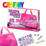 en71 craft toy kit Do it yourself Bling Bling Tote bag