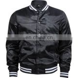 OEM wholesale baseball sports style suede leather men varsity jacket/ wholesale-plain-varsity-jackets