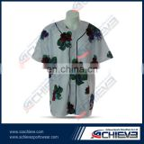china factory professional high quality baseball uniform, quick dry OEM baseball uniforms for wholesale sportswear