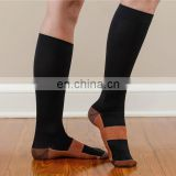 Copper Socks Compression Miracle Leg Calf Support Pain Relief