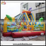 Great fun inflatable animal theme bouncer, inflatable combo jumper castle, air trampoline