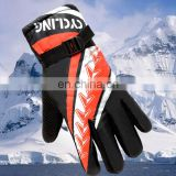 Sport custom winter ski gloves