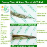 Chrome removal solution Chrome stripping liquid Chrome removal agent for metal