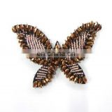 2012 newest beaded handmake butterfly hair comb hair headband hair pin hair accessory garment accessory