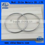 Professional manufacture SS304 SS316 Carbon steel Marine metal Round Ring with high quality
