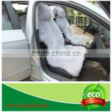 Customized 100% Genuine Australia Long Fur Sheepskin Wool Car Seat Cover for Eastern Europe Hi Lux Car Cushion