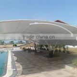 Multifunctional colorful steel structure etfe roofing membrane cushions for soccer football fields