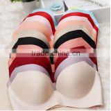 We Have Stocks Various Colors Young Girls Underwear FLoral Seamless Fashion Push Up Bra Lingerie 300pcs/Lot