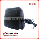 ES-608 External gps CB Radio Speaker for truck with 8ohm 10W power and 3.5mm angle plug amplified cb speaker
