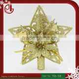 Best Promotion Lovely Shiny Xmas Decorative Christmas Star Tree Topper For Table Top Ornament