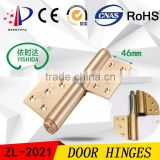 Aluminum alloy Hydraulic Door Closer Hinges Flag Hinges Swing door Hinges