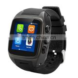 WITMOOD New Arrival Android 4.4.2 Smart Phone Watch X01 IPS 1.54 inch MTK6572 Dual core 512MB+4GB Bluetooth 3G WCDMA GPS WIFI
