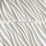 Modern Design Embossed Interior PU 3D Panel For Wall Decorative                                                                         Quality Choice