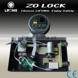 Fingerprint lock,combination lock for lockers,motorized system fingerprint digital code lock
