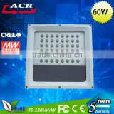 High brightness best quality energy saving 60w led gas station light for service station