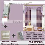 TYT zigbee smart home automation ,electric curtain motor,electric curtain,electric curtan rail