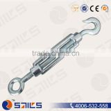 CE Certificated Carbon Steel hook and eye chain turnbuckle