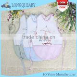 WZ-MS-009 good quality waterproof polyester baby bibs with string
