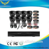 cheap home 720h 4CH cctv dvr kit security camera system