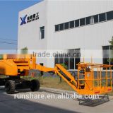 16m self-propelled articulating boom lift