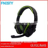 Reduce Noise Program Design Gaming Wired Headphone Earphone Headset With Mic and remote contral