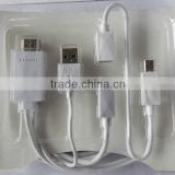 mhl female to vga male cable mini to av converter av to micro usb mhl