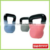 Neoprene Kettle Bell with black painted handle power kettlebell with/without rubber base